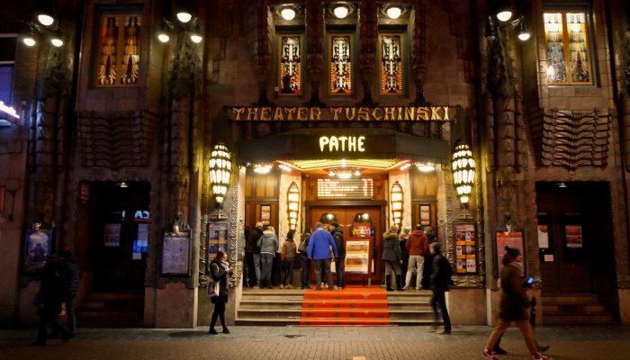 Muizen nemen bioscoop Amsterdam over