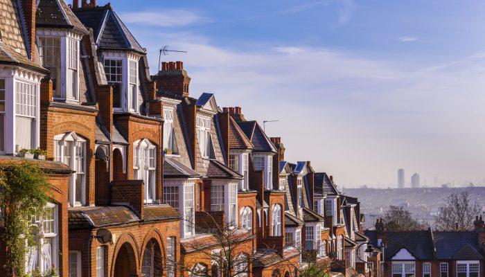 Huizen in Londen