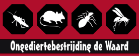 Logo van Ongediertebestrijding de Waard
